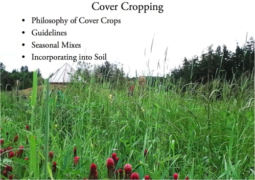 Cover cropping cover page